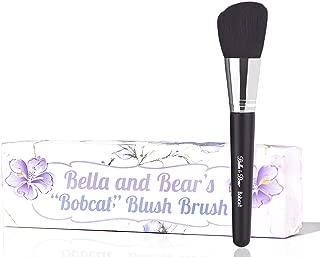 Bella And Bear Blush Brush - Angled For Highlighting - Bronzing - Scultping & Contouring - Vegan