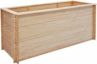 38 x 12,5 x 9,5 cm CB Casa/% Style Macetero Cinc Macetero Set Utilizar para Euro-Palets Caja Balc/ón Gama Olla Plata