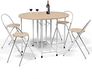 9beaf0ddaf1d Amazon.com  Oval - Table   Chair Sets   Kitchen   Dining Room ...