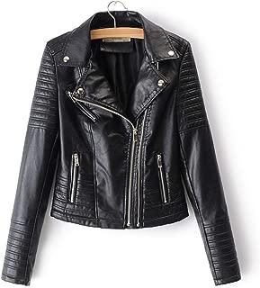 Heart .Attack jacket Women Smooth Motorcycle Jackets Ladies Long Sleeve Biker Streetwear Coat