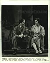 1990 Press Photo Jonathan Hadary and Tyne Daly in