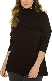 Ulla Popken Shirtrolli Basic Camiseta Cuello Alto para Mujer