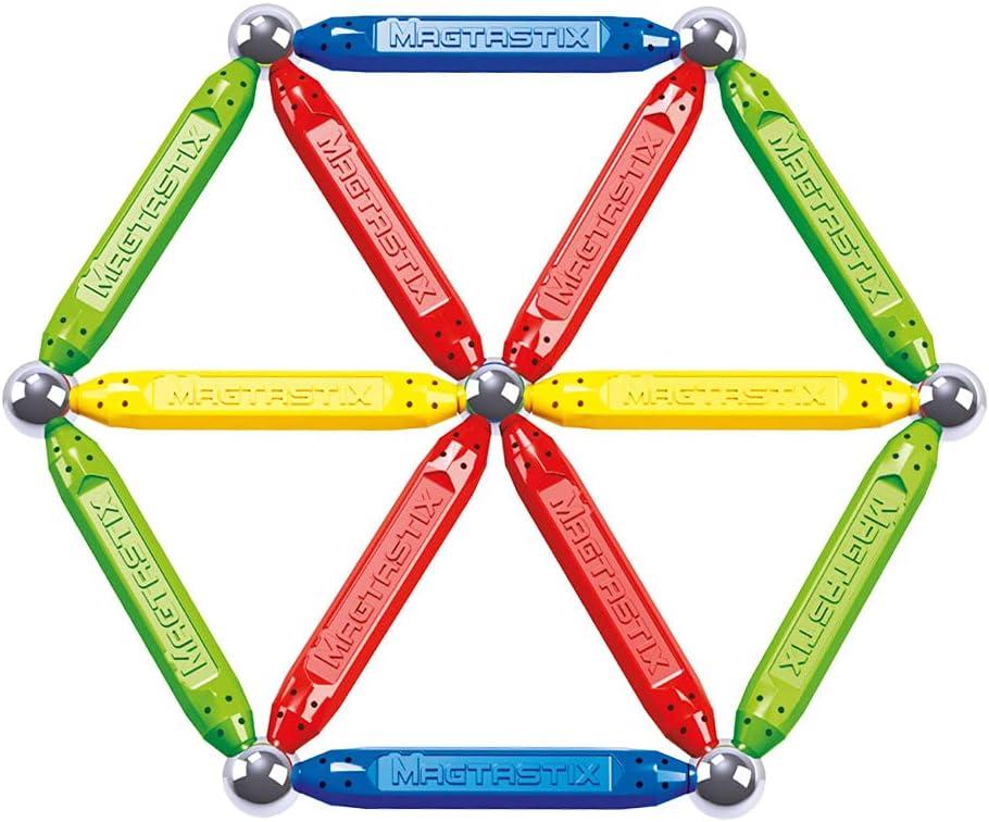 Cra-Z-Art - Juego de construcción magnético, 20 piezas Magtastix (43924)