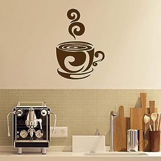 (wall sticker 85x55 (coffe cup