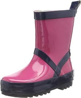 Playshoes Bota de Agua Classic, Botas de Goma de Caucho Natural Unisex niños