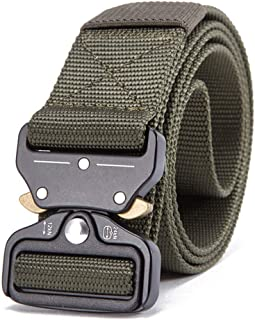 Military Equipment Knock Off Army Belt Men'S Heavy Duty Soldier Tactical Belts Sturdy 100% Nylon Waistband