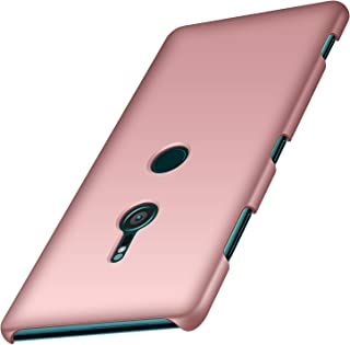 anccer Colorful Series for Sony Xperia XZ3 Case Ultra-Thin Fit Premium PC Material Slim Cover for Sony Xperia XZ3 (Not for Xperia XZ2) (Rose Gold)