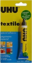 UHU textile solvent free fabric glue 19ml
