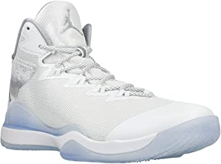 Nike air Jordan Super.Fly 3 Mens hi top Basketball Trainers 743665 Sneakers Shoes (UK 11 US 12 EU 46, White Reflective Silver Wolf Grey 109)