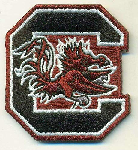 SOUTH CAROLINA GAMECOCKS IRON ON EMBROIDERED EMBROIDERY PATCH PATCHES SCHOOL OF UNIVERSITY STATE COLLEGE FOOTBALL SPORTS