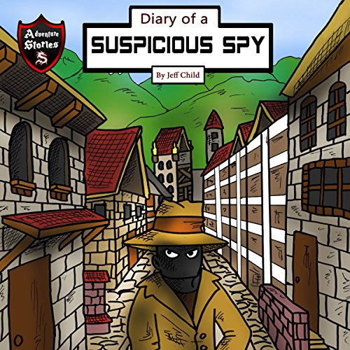 Diary of a Suspicious Spy audiobook cover art