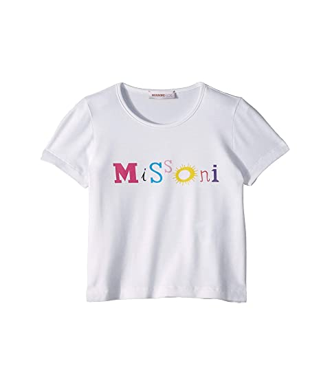 Missoni Kids Logo Print T-Shirt (Toddler/Little Kids)
