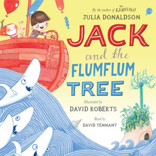 Jack and the Flumflum Tree audiobook cover art