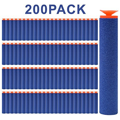 FUCAS Refill Darts 200PCS Universal Suction Darts...