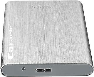 B Blesiya 2,5 inch (6,35 cm) USB 3.0 SATA 500G 1TB 2T HDD externe harde schijf behuizing - zilver 500G