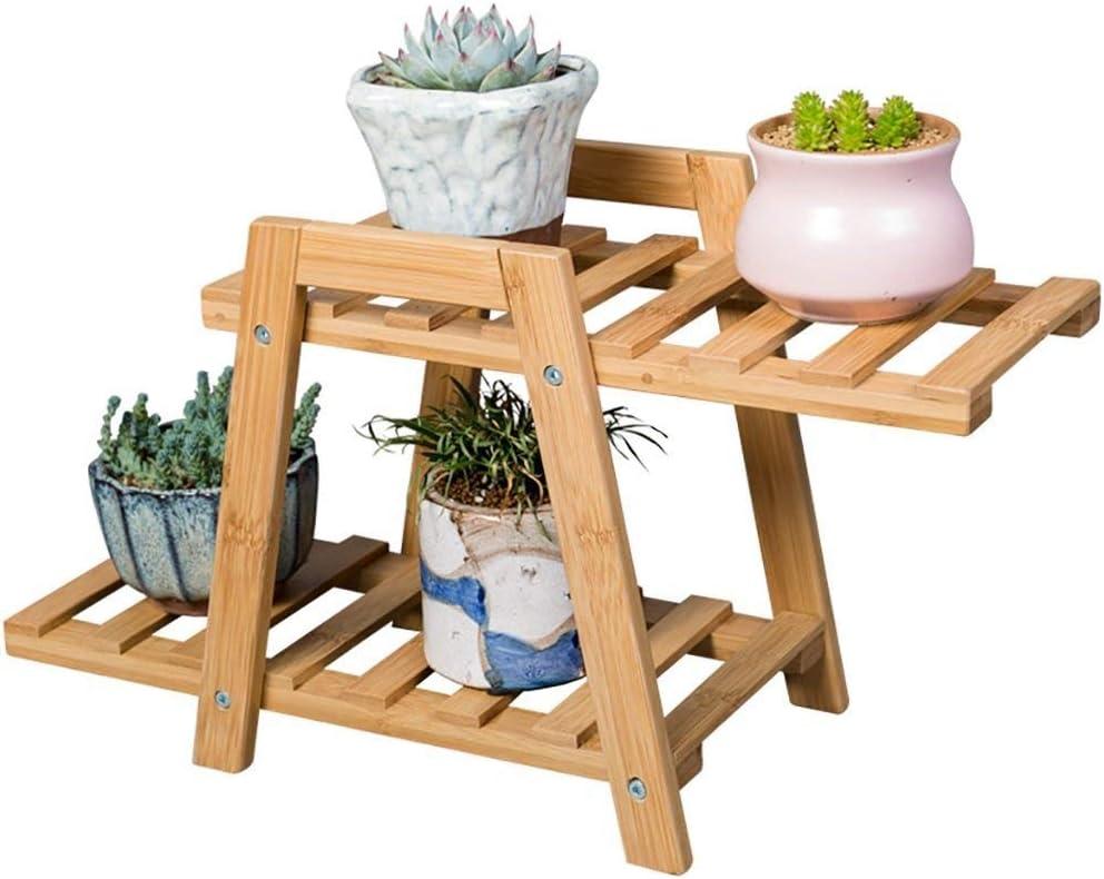 ZKS-KS Surprise price Flower Stand Solid Wood Multilayer Woo favorite Floor