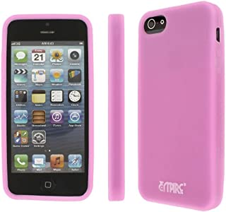 iPhone SE / 5 / 5S Case, Pink EMPIRE Pink Glows in the Dark Silicone Skin Cover Case for Apple iPhone SE / 5 / 5S