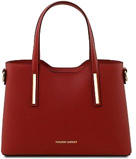 Tuscany Leather Olimpia Borsa a mano in pelle - Misura piccola