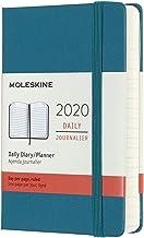 モレスキン 手帳 2020年 1月始まり 12ヶ月デイリーダイアリー ハードカバー ポケットサイズ マグネティックグリーン DHK3412DC2Y20-e