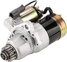 Qiilu Professional Nissan Starter Motor for Nissan Altima Sentra L4 2.5L 2500cc, 2002, 2003, 2004, 2005, 2006, 2007, OE 17835, 23300-8J000, 23300-8J001