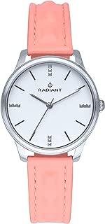 Radiant leya Womens Analog Quartz Watch with Leather bracelet RA520601