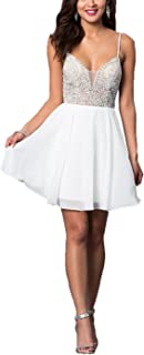 Best short illusion jeweled bodice homecoming dress Reviews