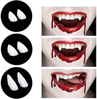 CPSYUB Cosplay Vampire Fangs, Cosplay Accessories Halloween Party Prop Decoration Fake..