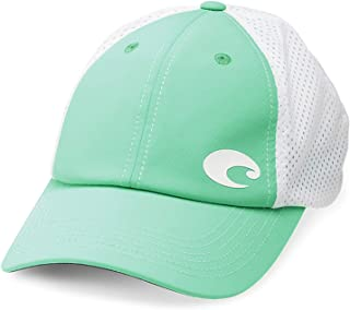 Costa Del Mar Offset Logo Performance Hat, Mint Green