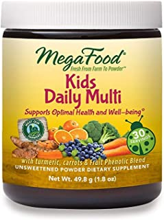 MegaFood, Kids Daily Multi Booster Powder, Promotes Healthy Growth Development, Multivitamin Supplement, Gluten Free, Vege...
