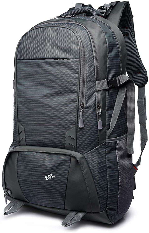 JINYIJUN Rucksack, Unisex, modisch, Reiserucksack, Fitness-Rucksack, Multifunktionstasche, Bergsteigen, Outdoor-Rucksack, Freizeittasche, groes Fassungsvermgen, 80 l, Business Laptop, Diebstahlschutz