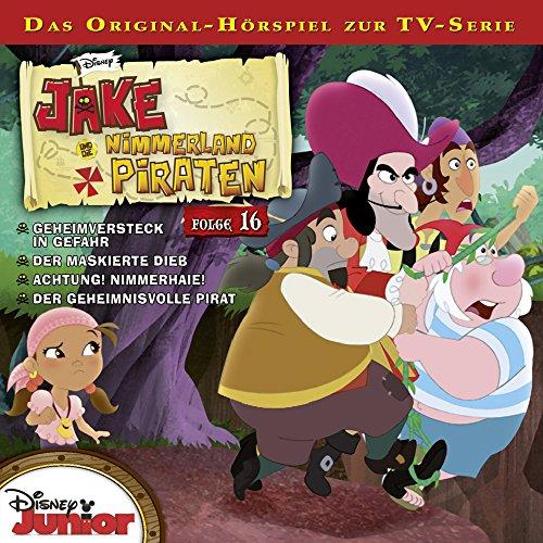 Jake und die Nimmerlandpiraten 16 Titelbild