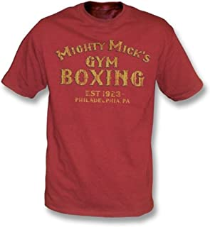 Rocky (Mighty Mick's Gym) T-Shirt, Color Cardinal Red