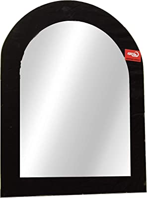 Sima Enterprise Round Shape Designed Attractive Mirror (18 * 14, Black & White)