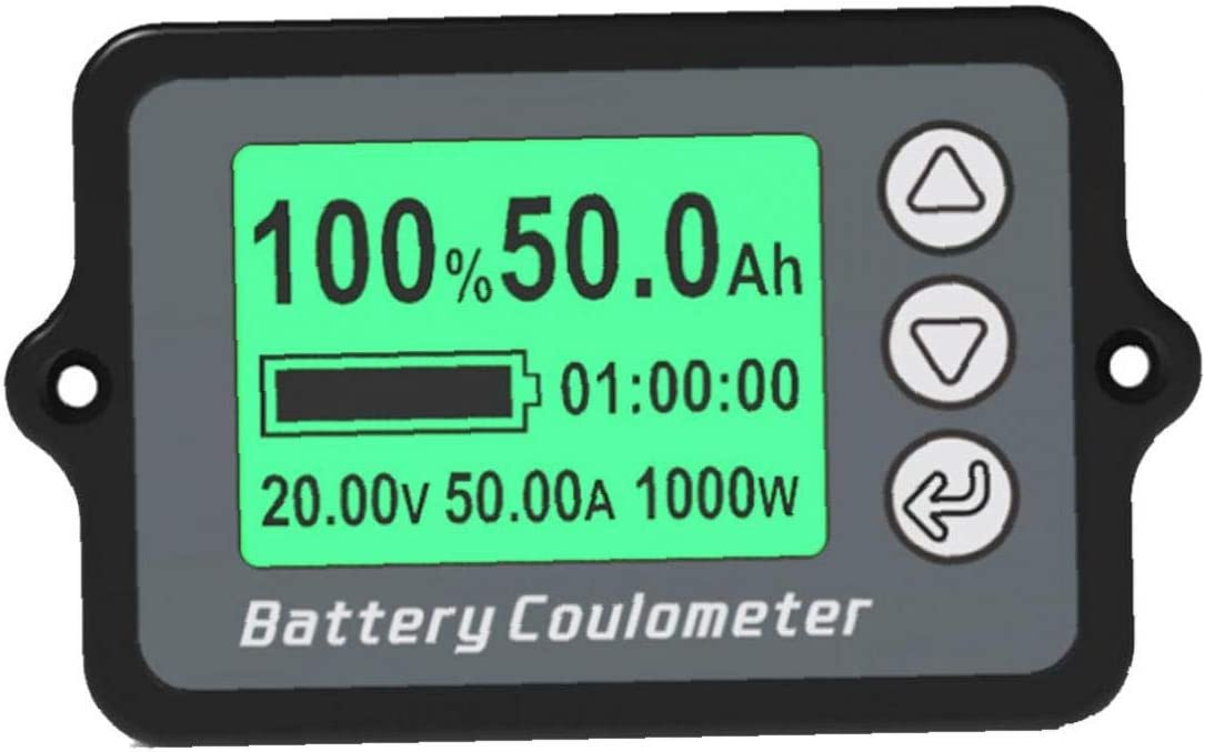 Battery Indicator Capacity Tester Attention brand TK15 Fashion Voltage 350A Gaug