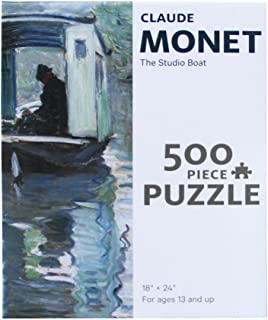Monet Studio Boat Puzzle