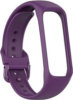 D.ragon Bracelet De Remplacement pour Bracelet Intelligent Samsung Galaxy Fit 2 R220 , Bracelet De Montre en Silicone pour...