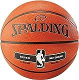 Spalding Nba Silver Outdoor Basketball 6 Tan