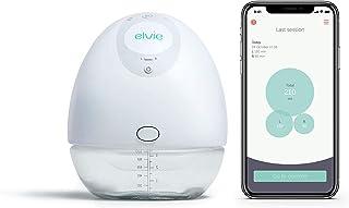 Elvie Pump - Sacaleches silencioso y portátil con aplicación – Sacaleches eléctrico portátil y manos libres perfecto para ...