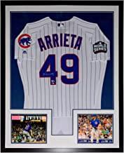 Jake Arrieta Signed Chicago Cubs 2016 World Series Jersey - Fanatics & MLB COA Authenticated - Professionally Framed & No ...