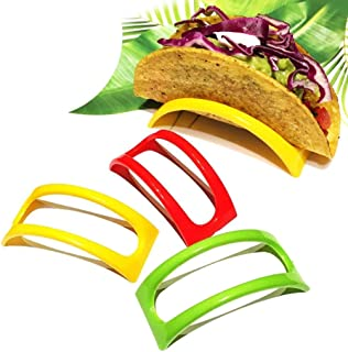 Kitchen & Dining, iuuhome 12PCS Colorful Plastic Taco Shell Holder Taco Stand Plate Protector Food Holder