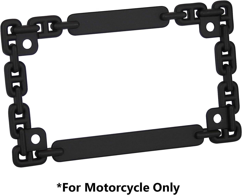 Cheap SALE Start TC Sportline Max 68% OFF LPF252-BK 3D Chain Style Zinc Fin Metal Black Matte