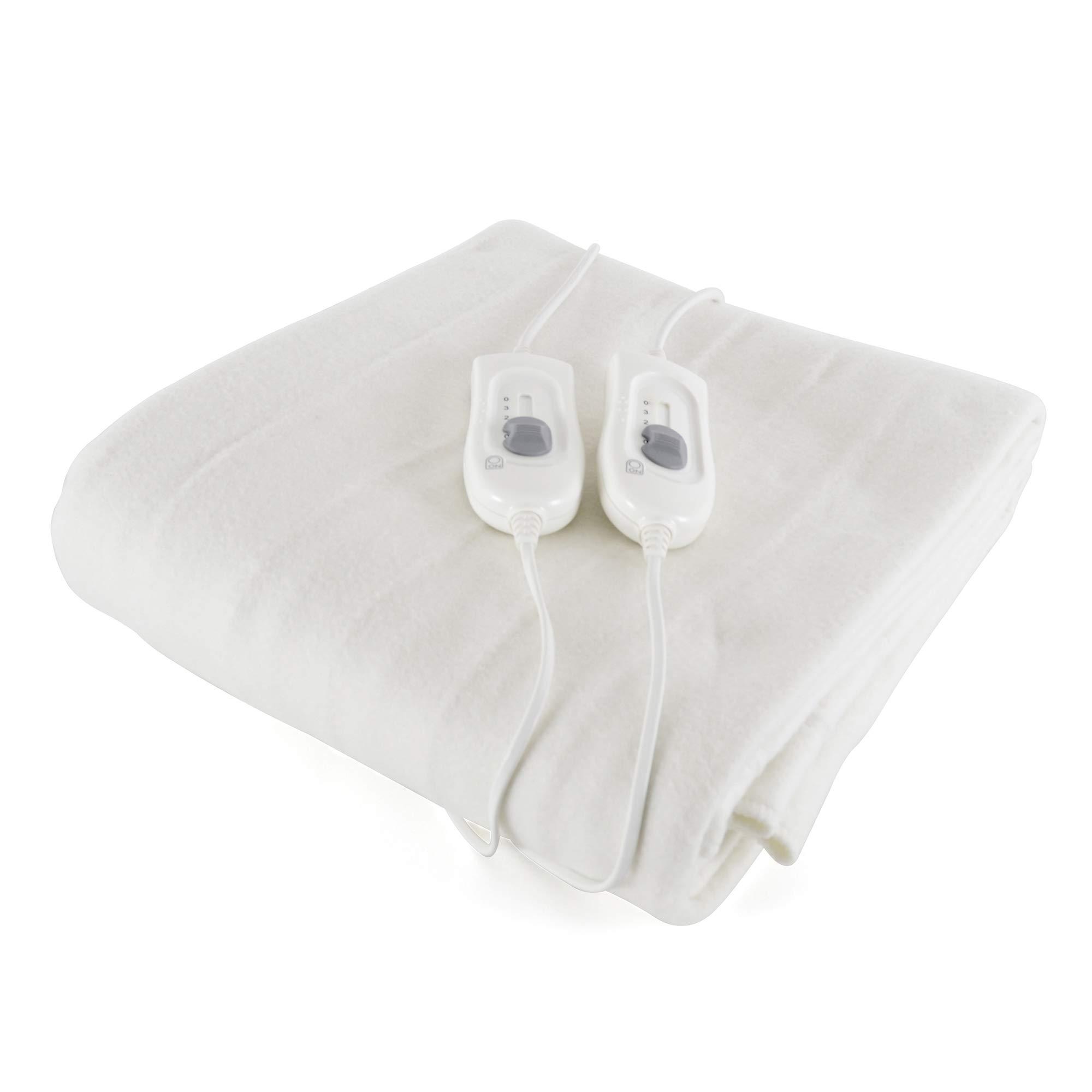 Comfort Heat Control Washable Electric Blanket 3 Heat Settings Double Benross