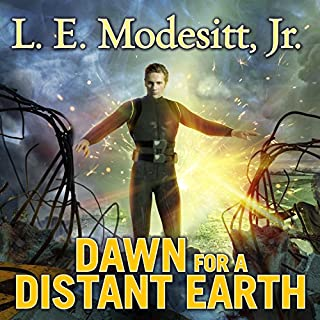 Dawn for a Distant Earth audiobook cover art