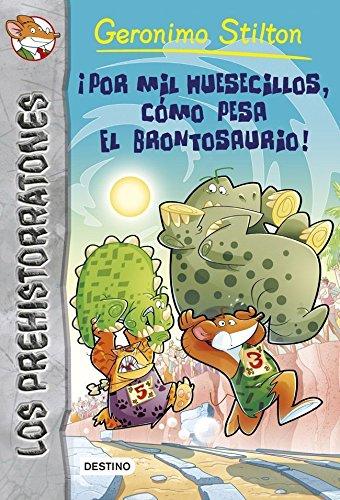 Por mil huesecillos, como pesa el brontosaurio! / Don't Wake the Dinosaur!