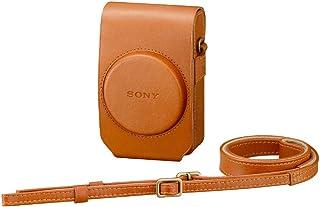 ソニー SONY デジタルカメラケース ソフトキャリングケース ブラウン LCS-RXG T
