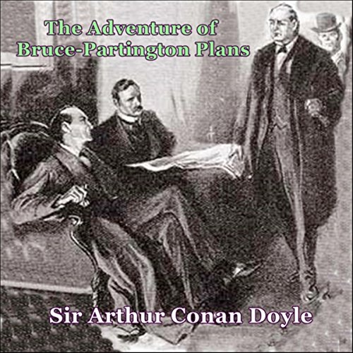 Sherlock Holmes: The Adventure of the Bruce-Partington Plans cover art