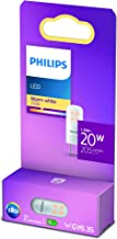 Philips LED Light Capsule Spot [GY6.35 Socket] 1.8W - 20W Equivalent, 12V, Warm White (2700K), Non-Dimmable