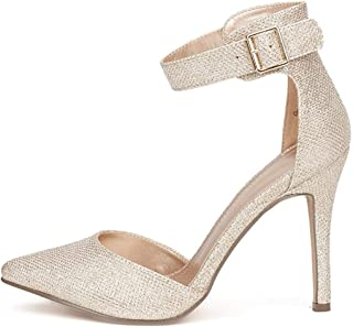 Oppointed-Ankle Women's Pointed Toe Ankle Strap D'Orsay...
