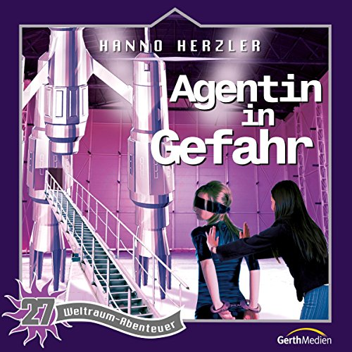 Agentin in Gefahr audiobook cover art
