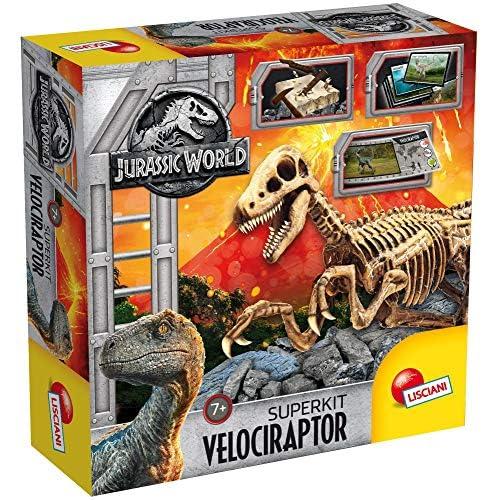 Liscianigiochi 68227 - Jurassic World Super Kit Velociraptor